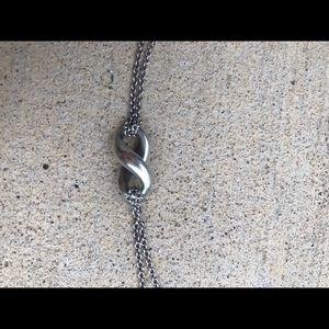 Tiffany & Co. Jewelry - Tiffany's infinity necklace. Silver